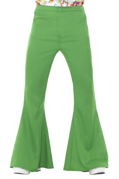 Flared Trousers - Green